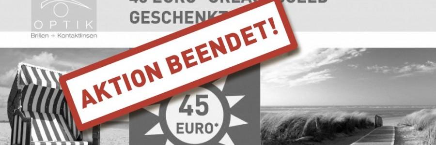 45 Euro Urlaubsgeld